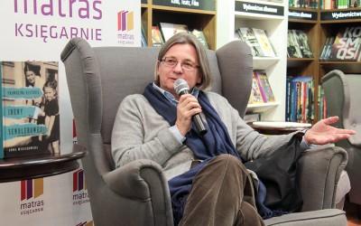 Spotkanie autorskie Anny Mieszkowskiej w księgarni Matras w Warszawie
