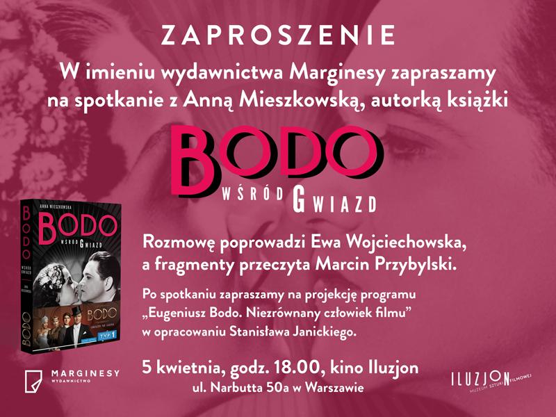 Promocja ksiązki Bodo wśród gwiazd